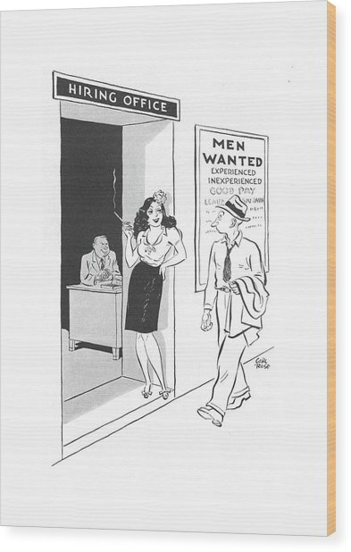 New Yorker September 11th, 1943 Wood Print