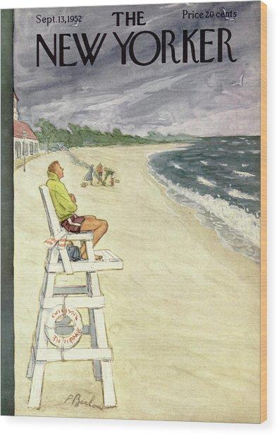 New Yorker September 13th, 1952 Wood Print