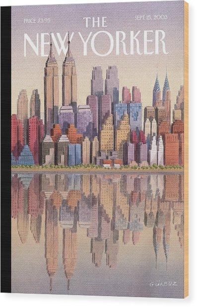 New Yorker September 15th, 2003 Wood Print
