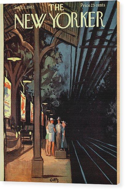 New Yorker September 1st, 1962 Wood Print