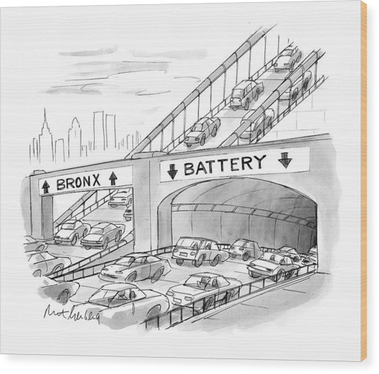 New Yorker September 20th, 1999 Wood Print