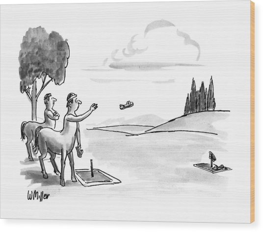 New Yorker September 24th, 1990 Wood Print