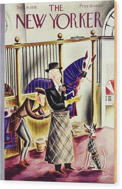 New Yorker September 26 1936 Wood Print