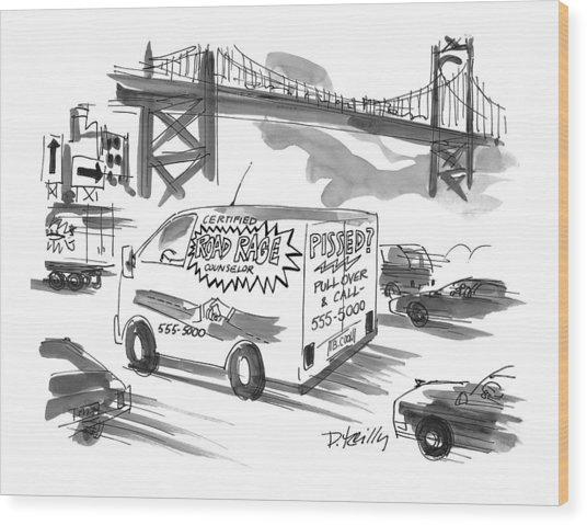 New Yorker September 27th, 1999 Wood Print