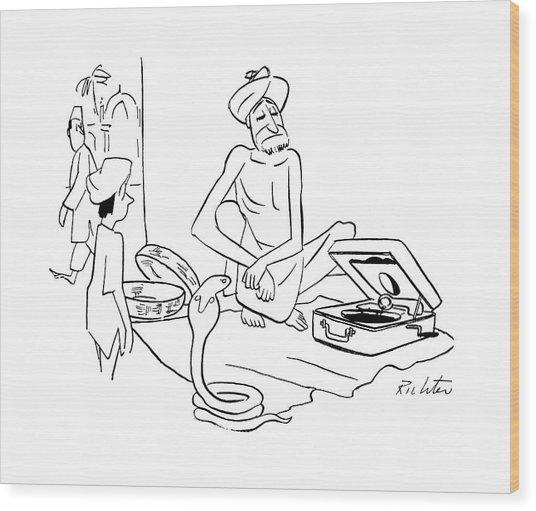 New Yorker September 30th, 1944 Wood Print