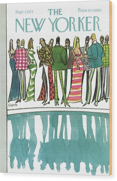 New Yorker September 3rd, 1973 Wood Print