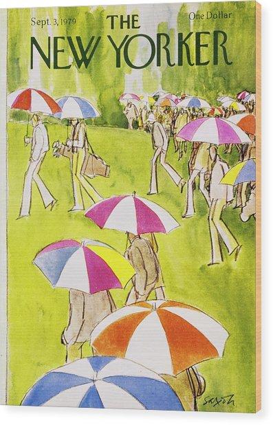 New Yorker September 3rd 1979 Wood Print