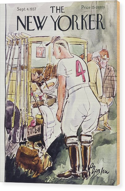 New Yorker September 4 1937 Wood Print