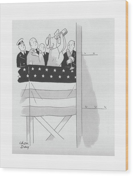 New Yorker September 4th, 1943 Wood Print