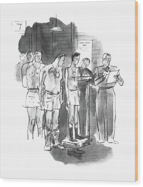 New Yorker September 5th, 1942 Wood Print
