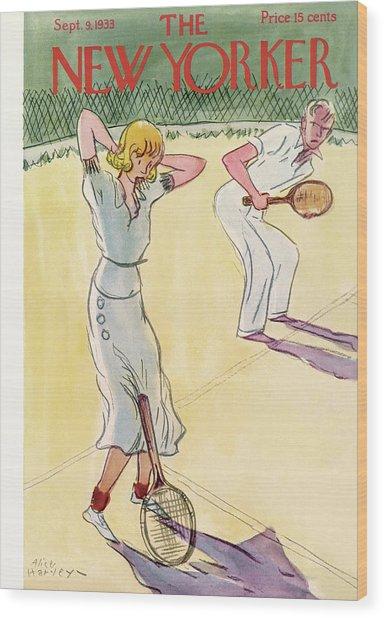 New Yorker September 9th, 1933 Wood Print