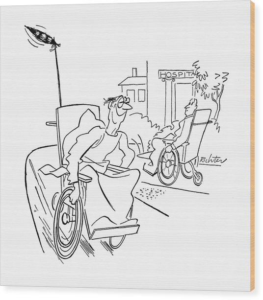New Yorker September 9th, 1944 Wood Print