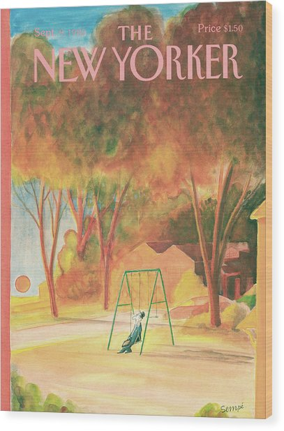 New Yorker September 9th, 1985 Wood Print