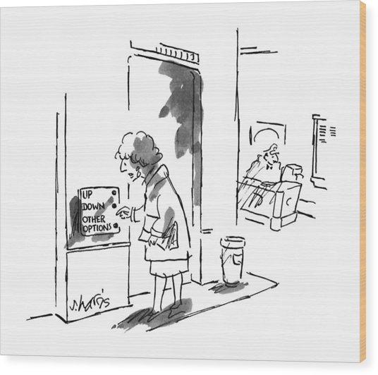 New Yorker September 9th, 1996 Wood Print