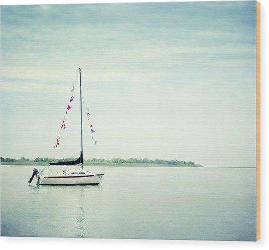 Next Voyage Wood Print
