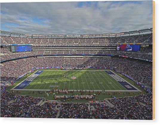 Nfl New York Giants Wood Print