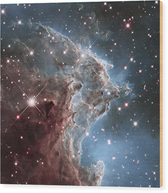 Ngc 2174-nearby Star Factory Wood Print