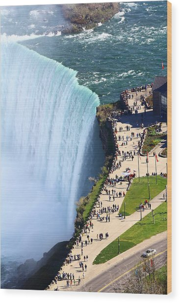 Niagara Falls Canada Wood Print