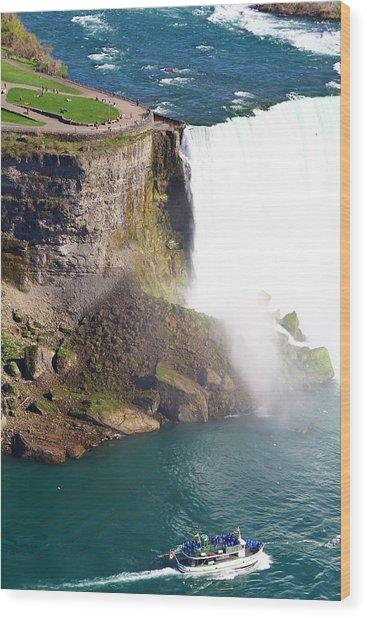 Niagara Falls New York Wood Print