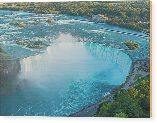Niagara Falls Ontario Canada Wood Print