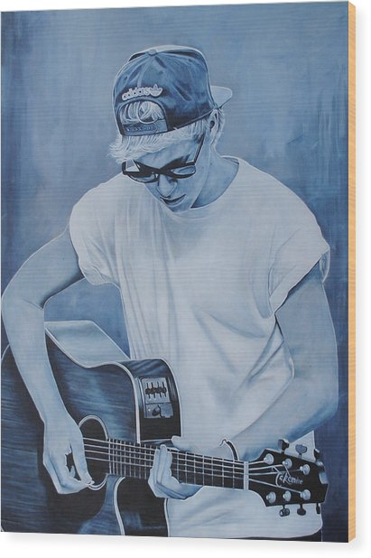 Niall Horan Wood Print