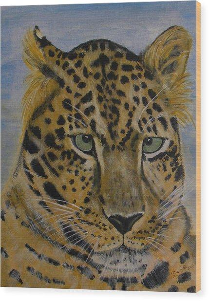 Nice Kitty Wood Print