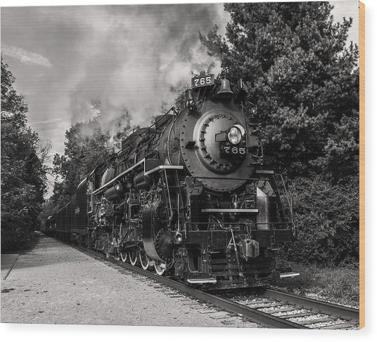 Nickel Plate Berkshire 765 Wood Print