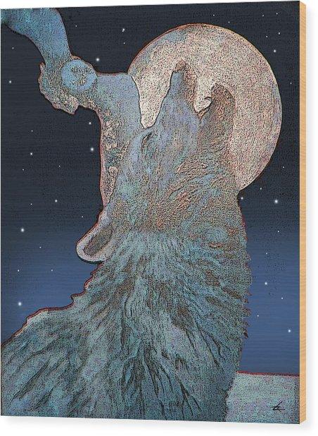 Night Life Wood Print