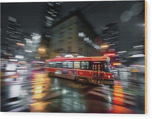 Night Moves Wood Print by Jason Crockett