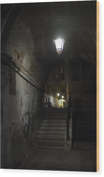 Night Passage Wood Print