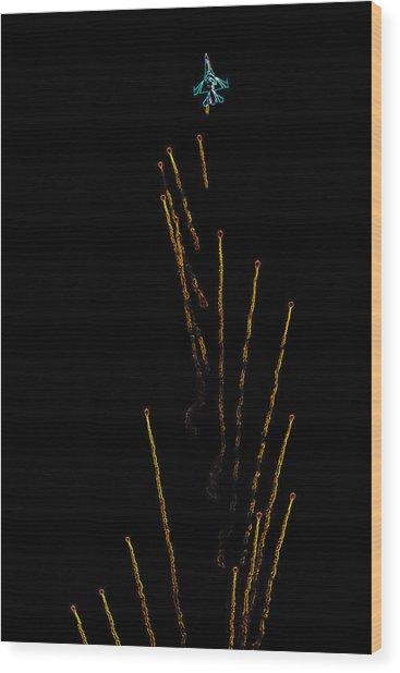 Night Warfare Wood Print
