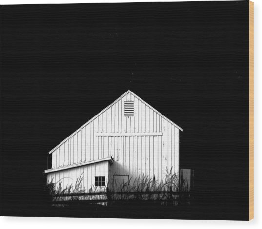 Nightfall Wood Print