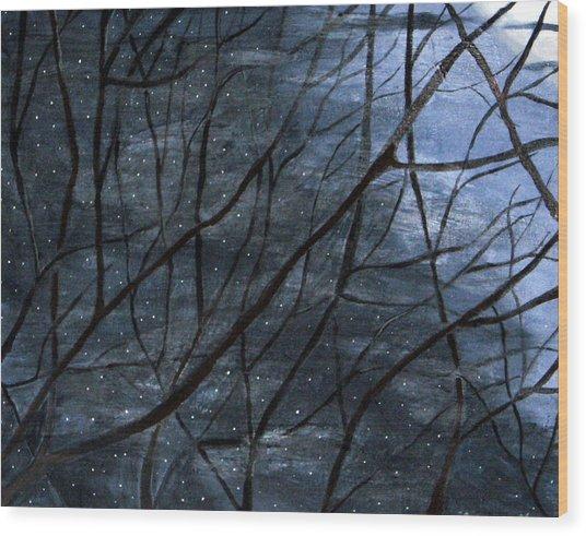 Nightlife Wood Print by Kori Vincent