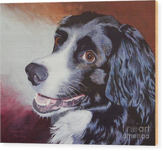 Nikki's Portrait Wood Print