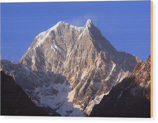 Nilgiri South 6839m Wood Print