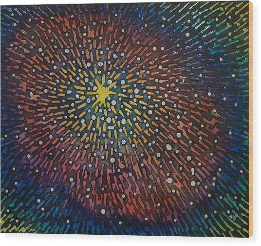 Nimoy Nebula Wood Print