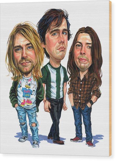 Nirvana Wood Print by Art