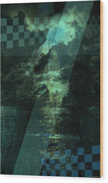 No 030 Wood Print by Alexander Ahilov
