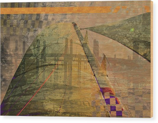 No 033 2 Wood Print by Alexander Ahilov