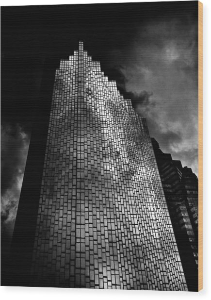 No 200 Bay St Rbp South Tower Toronto Canada Wood Print