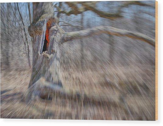 No Escape Wood Print