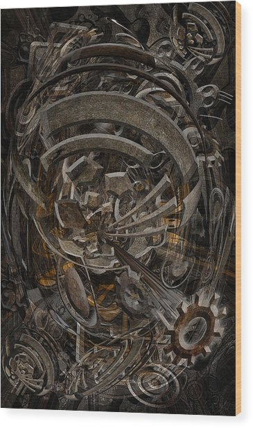 No.17 Wood Print