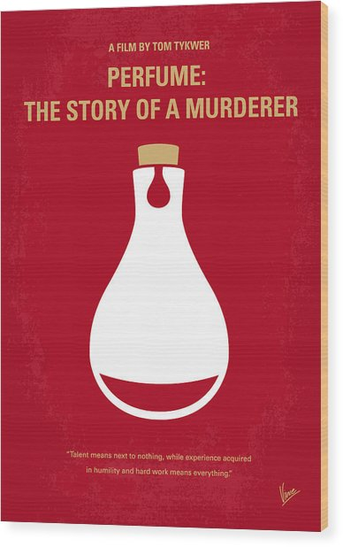 No194 My Perfume The Story Of A Murderer Minimal Movie Poster Wood Print
