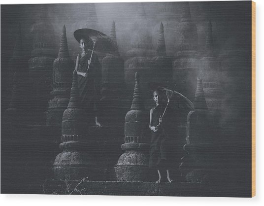 No.34 Wood Print
