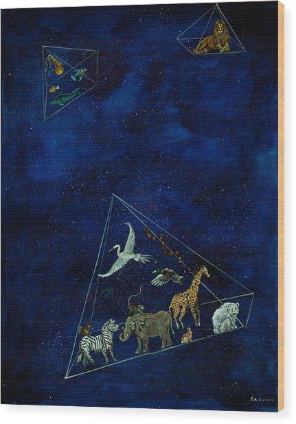 Noah's Last Voyage Wood Print