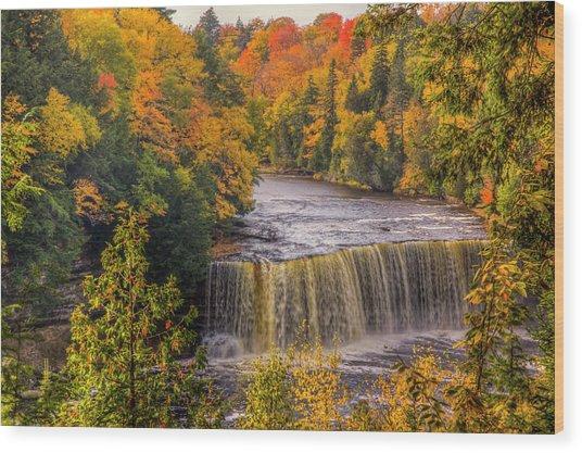 North America, Usa, Upper Peninsula Wood Print