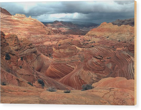 North Coyote Buttes Wood Print