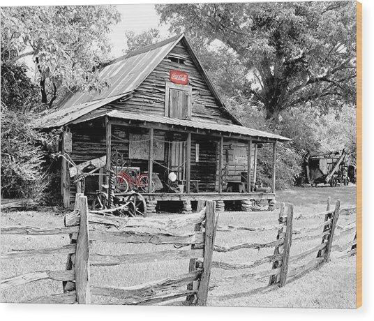 North Georgia's Murrayville Wood Print by EG Kight