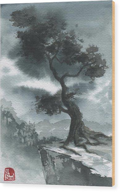 North Korea Wood Print