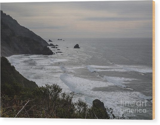 Northern California Coast- 578 Wood Print by Stephen Parker